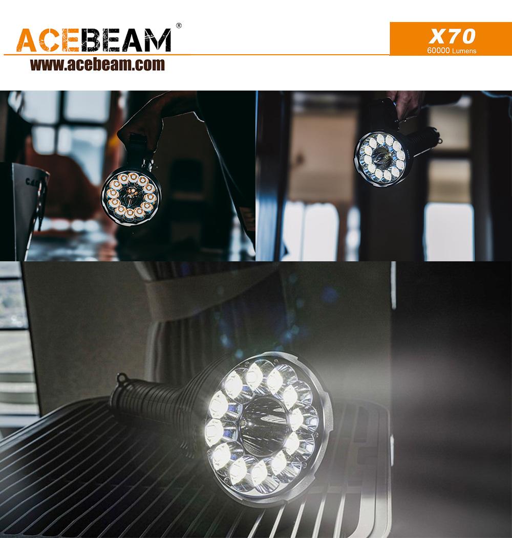 ACEBEAM X70最亮的手電筒 60000 流明 (4)
