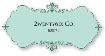 2wenty6ix 貳拾六店 回首頁