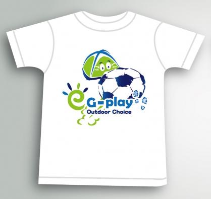 EGPLAY運動短袖T-SHIRT 100%純棉 親子服裝