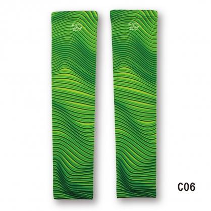 【EG-PLAY】#Show袖 擴散波紋系列 叢林綠