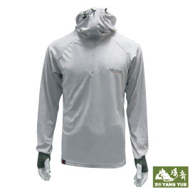 大升級 白竹炭遮罩防曬衣服 灰