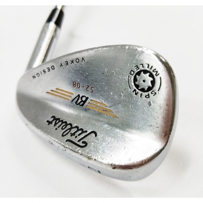 【二手桿】Wedge 挖起桿 Titleist VOKEY SPIN MILLED(2009) 52°/08° Dynamic Gold S200