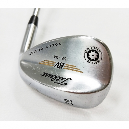 【二手桿】Wedge 挖起桿 Titleist VOKEY SPIN MILLED(2009) 58°/04° Dynamic Gold S200