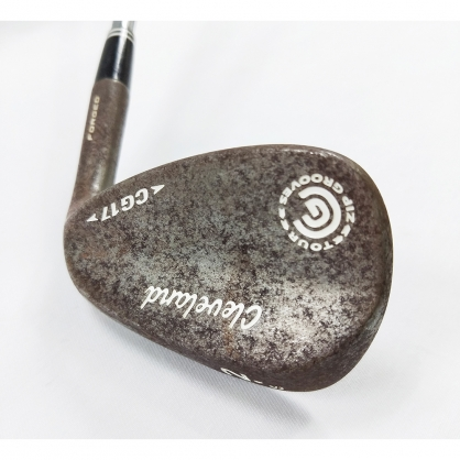 【二手桿】Wedge 挖起桿 Cleveland CG17 FORGED 52°/08° Dynamic Gold S200