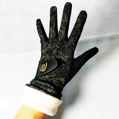 秋冬黑可觸控手套