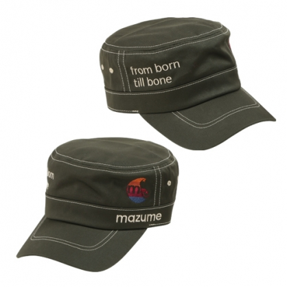 MZCP-340 mazume LOGO軍帽 II