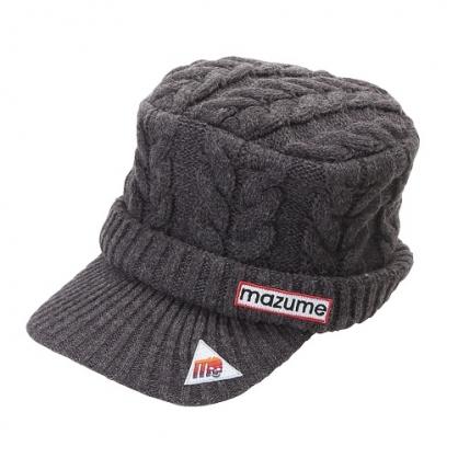 MZCP-F521 mazume 針織軍帽