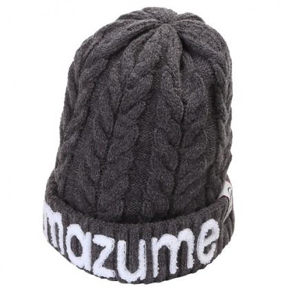 MZCP-F519 mazume 針織帽