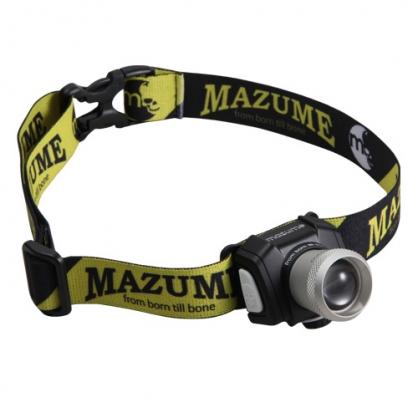 MZAS-301 mazume 可調整充電式頭燈