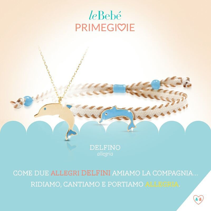 Primegioie首愛You&Me 海豚設計項鍊手繩組