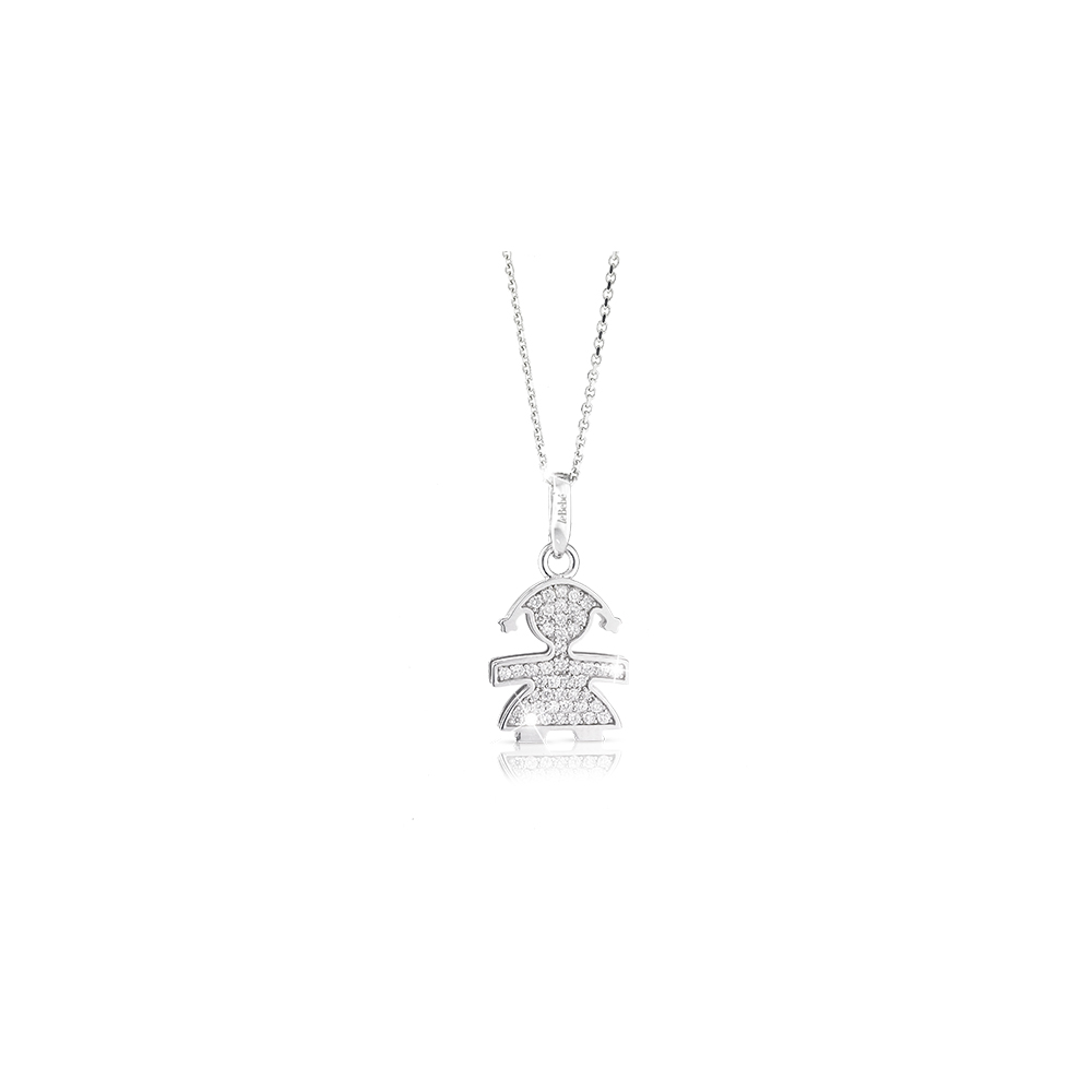 Gioielli珍愛Mini Pave鑽石項鍊 Micro-setting