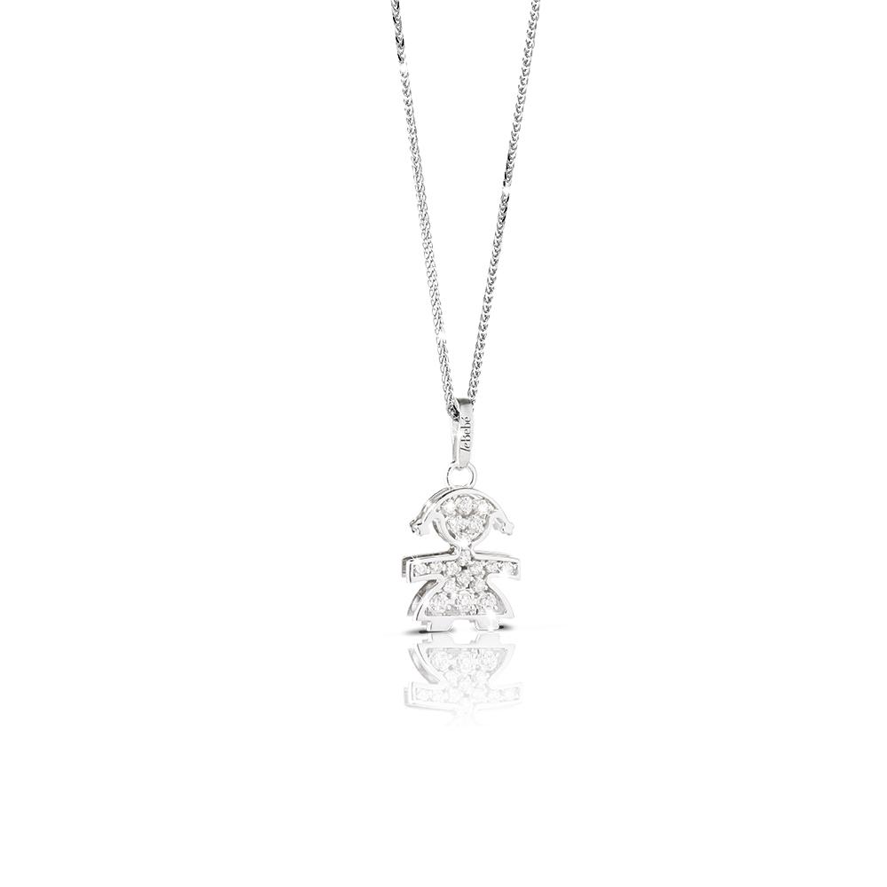 Gioielli珍愛Pave Piccoli鑽石項鍊