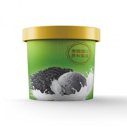 【泰椰】黑芝麻冰淇淋 (100ml)