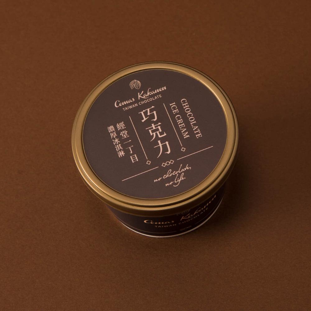 經堂一丁目濃厚巧克力冰淇淋 6入(贈送保冷袋)