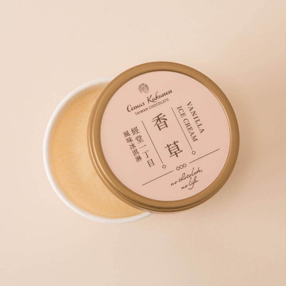 經堂一丁目巧克力/香草綜合冰淇淋 6入(贈送保冷袋)