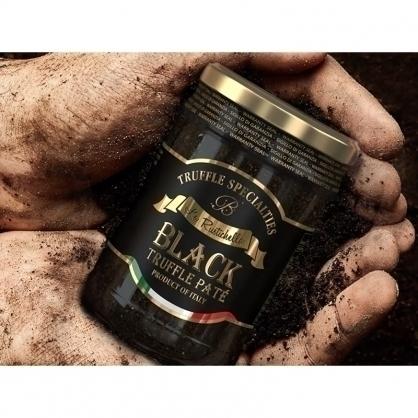 義大利 La Rustichella 頂級黑松露10%(蕈)醬 (含鯷魚)