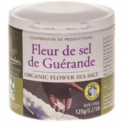GUERANDE FLEUR DE SEL法國葛宏德區天然鹽之花(罐裝)