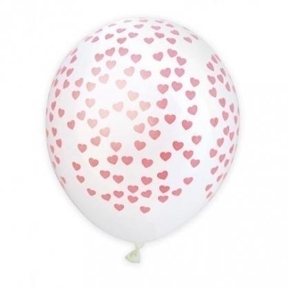 法國ScrapCooking愛心氣球(O28cm) 6入