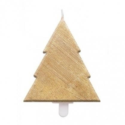 法國ScrapCooking聖誕樹蠟燭