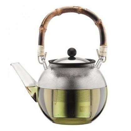 bodum assam 壓濾式茶壺/竹製把手/1000cc