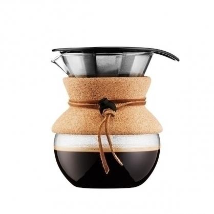 bodum pour over軟木手沖咖啡濾壺(附長效型濾網)/0.5公升