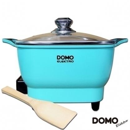 DOMO 2.2L歐風多功能料理電火鍋