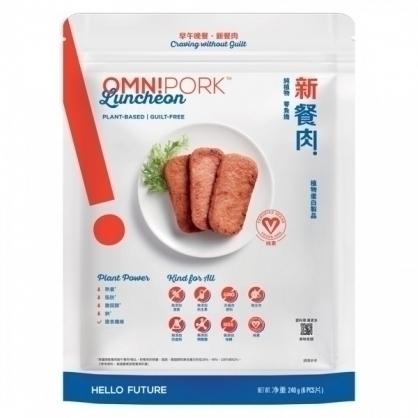 OmniPork新餐肉(植物蛋白製品-純素)240g