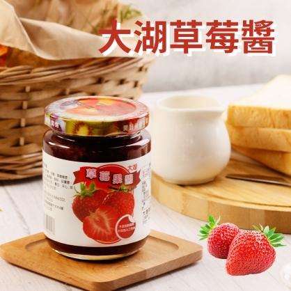 【大湖農場】草莓顆粒果醬(300g±10g/瓶)