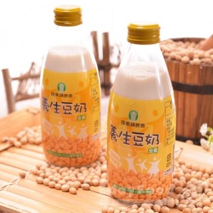 【羅東農會】羅董系列豆奶24瓶-養生豆奶/黑豆奶/杏仁奶/米奶(245ml/瓶)