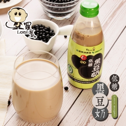 【羅東農會】羅董特濃低糖系列24瓶 -低糖黑豆奶/低糖豆奶(245ml/瓶)