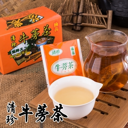【芬園農會】牛蒡茶(20入/盒)
