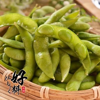 【好料】非基改鹽味毛豆 (300g/包)