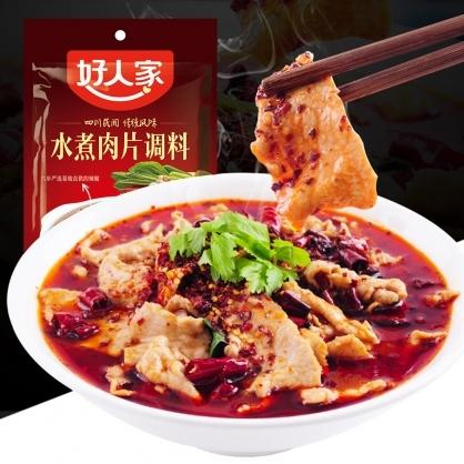 【好人家】水煮肉片調料(100g/包)