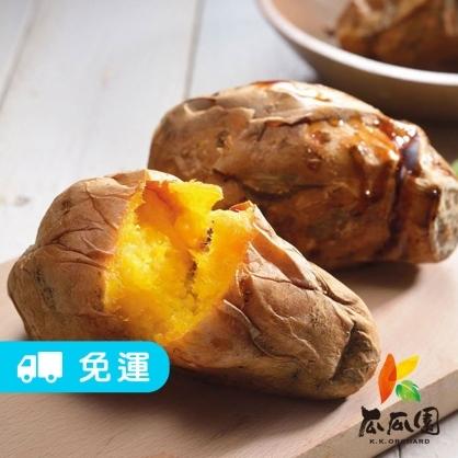 (免運)【瓜瓜園】冰火兩吃人氣番薯 2盒/4盒/8盒(350g/盒)