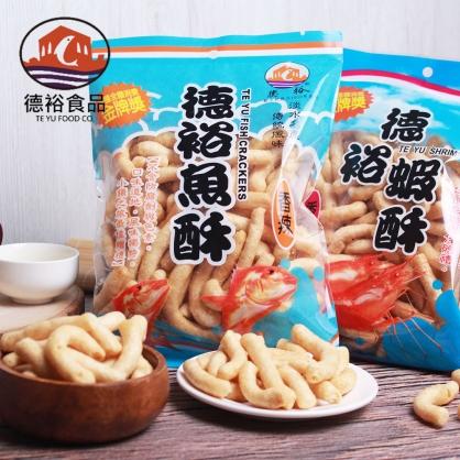 【德裕魚酥】原味魚酥/辣味魚酥/原味蝦酥/辣味蝦酥(150g±4.5%/包)