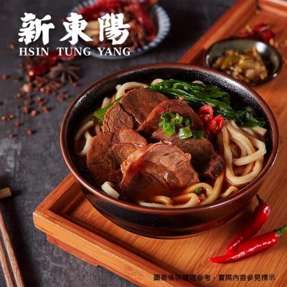 【新東陽】川味紅燒牛肉麵(700g/盒)(約1.5~3人份)
