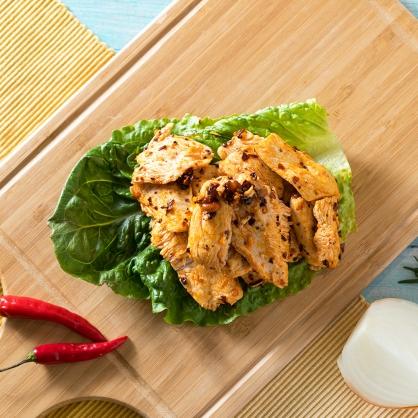 辣子舒肥雞胸肉(每份熟肉120g)