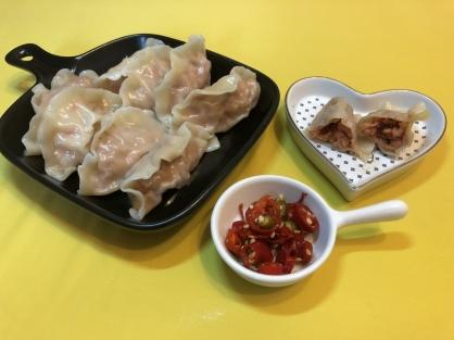 辣椒豬肉水餃(25粒)