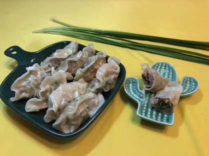 韭菜豬肉水餃(50粒)