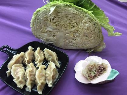 高麗菜豬肉水餃(50粒)