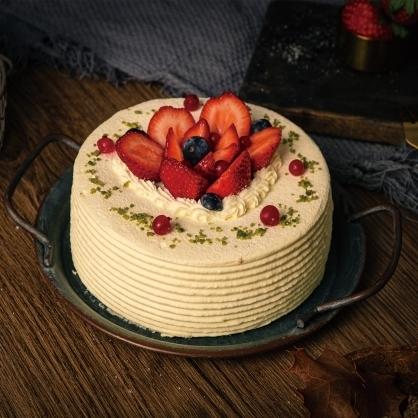 草莓蛋糕(蛋糕無法宅配,僅限自取)