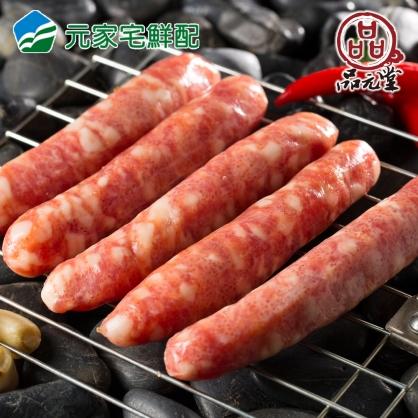 品元堂飛魚卵香腸5入(300g/包)