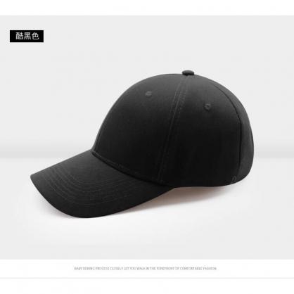 平繡訂製-黑色棒球帽