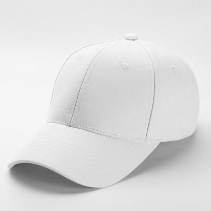平繡訂製-白色棒球帽