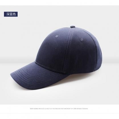 平繡訂製-藏青色棒球帽