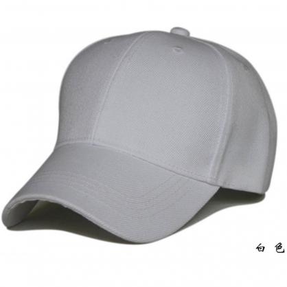 立體繡訂製-白色棒球帽