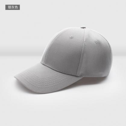 立體繡訂製-灰色棒球帽