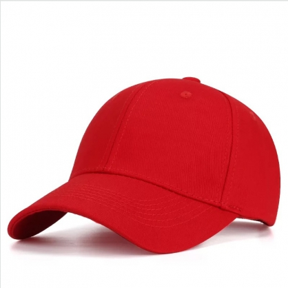 立體繡訂製-紅色棒球帽