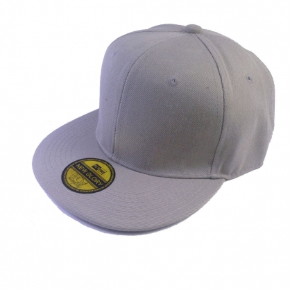立體繡訂製-灰色嘻哈帽