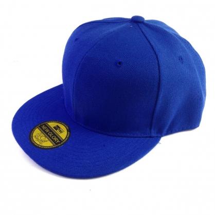 立體繡訂製-藍色嘻哈帽